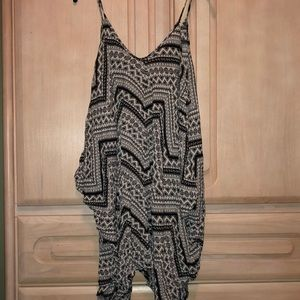Fun Patterned Romper
